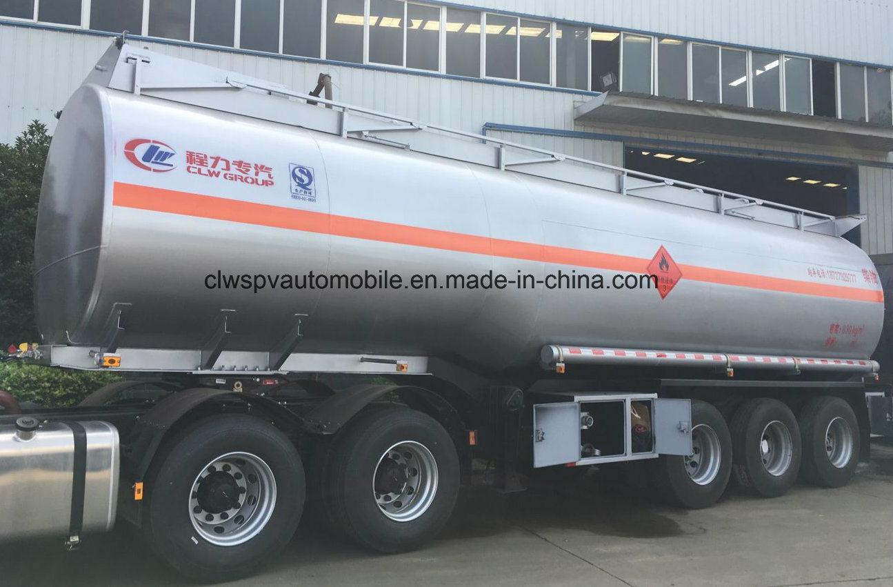 4 Axles Oil Transport Steel Fuel Tanker 60, 000 Liters Semi Trailers