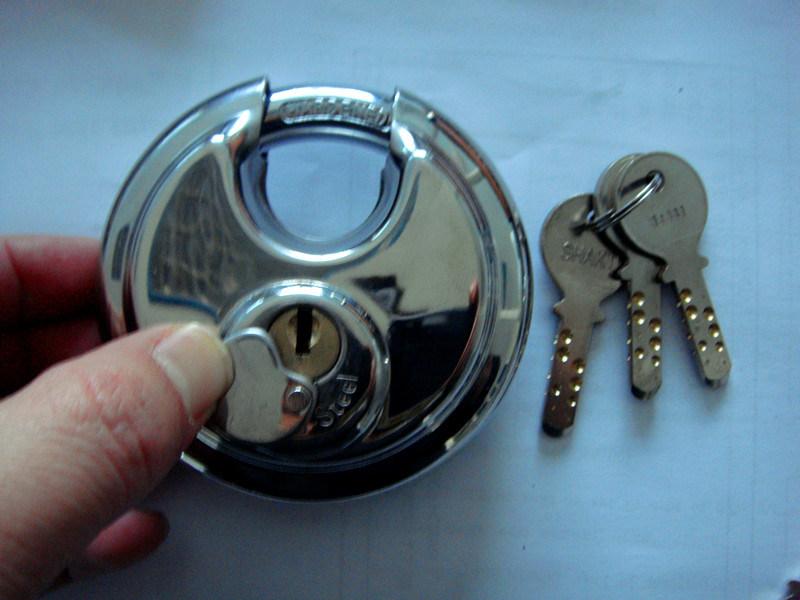 Stainless Steel Padlock, Disc Lock, Padlock (AL60-70-80-90)