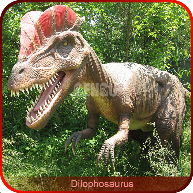 Jrassic Park High Simulation Animated Dinosaur Model