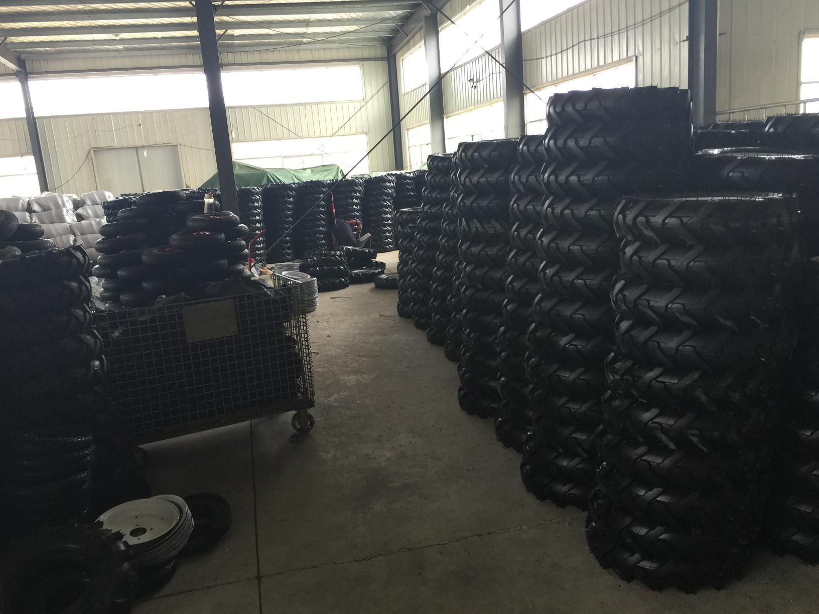 3.25-8 Wheelbarrow and Hand Trolley Rubber Wheel Tire