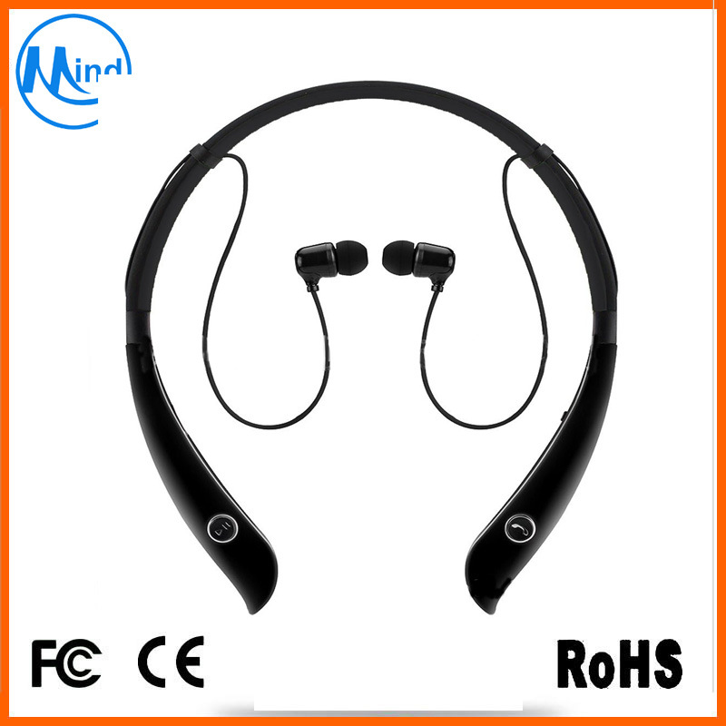 CSR8635 Bluetooth V4.1 Stereo HD Bluetooth Neckband Headband Support A2dp Noise Reduction