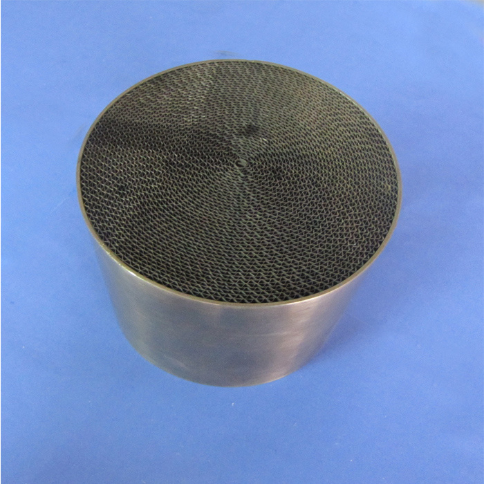 Metal Honeycomb Catalyst for Motorcycle Auto Parts