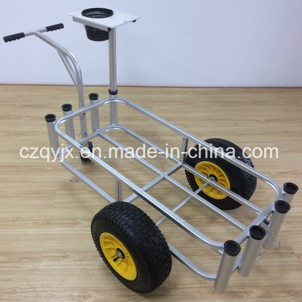 Fishing Product Aluminum Fishing Cart with Cutting Board