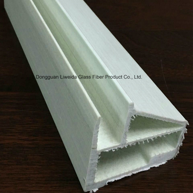 Customized Fiberglass Profile, FRP Plutruded Profile with Insulation for Construction