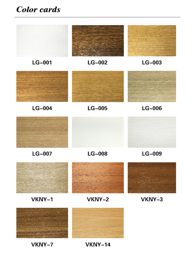 WPC Environmental Protection Waterproof PVC Laminated Skirting (VK-T2A)