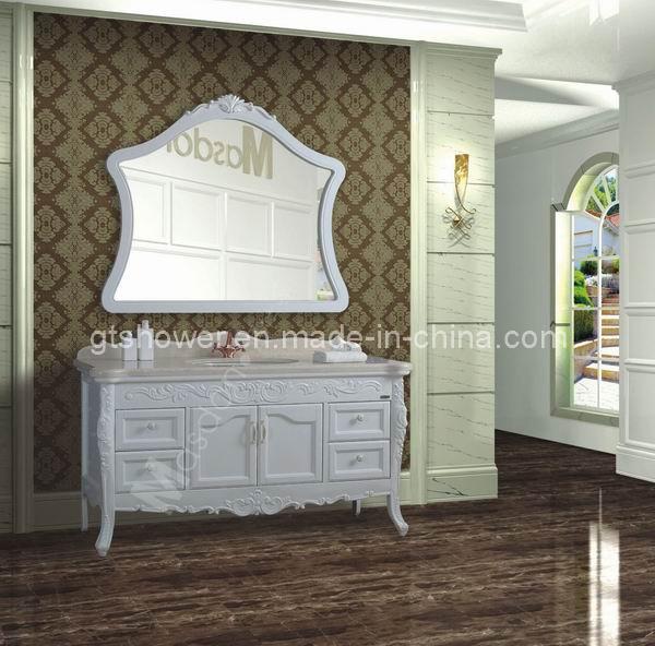 Almacenaje blanco de los muebles de la vanidad del cuarto - Muebles almacenaje bano ...