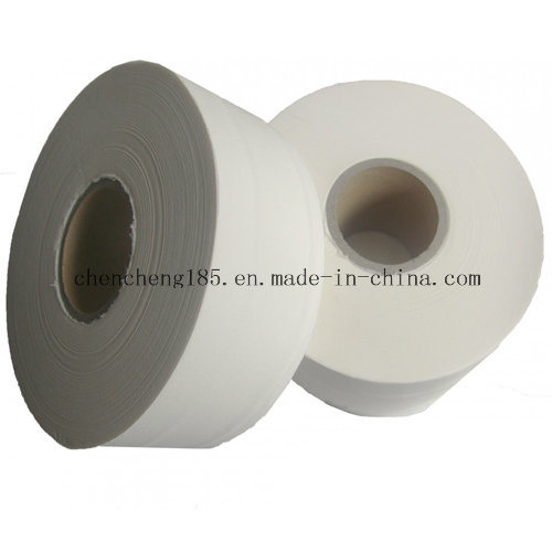 Wood Pulp Jumbo Paper Roll/Large Tissue Paper Roll Fk-97