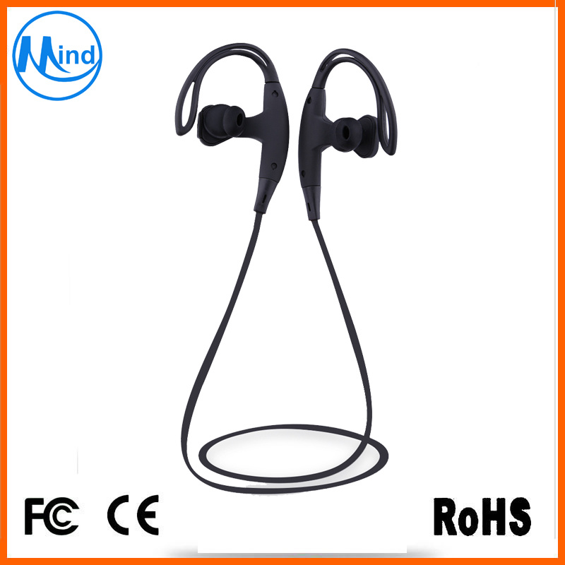 2016 Hot Selling Personality Design Wireless Bluetooth Sport Earphone 5 Hours Music Time