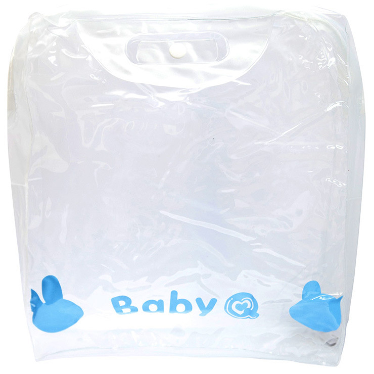 Hot Sale Stand up Clear PVC Plastic Bags for Cosmetics (FLC-9105)