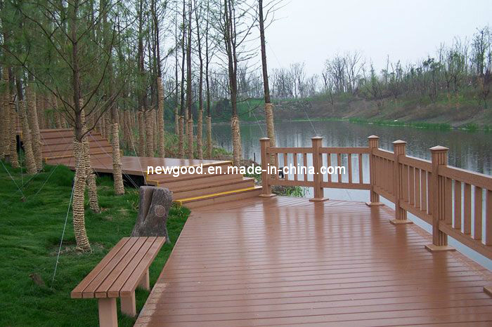 Garden Flooring - Water Proof - Wood Plastic Composite Decking