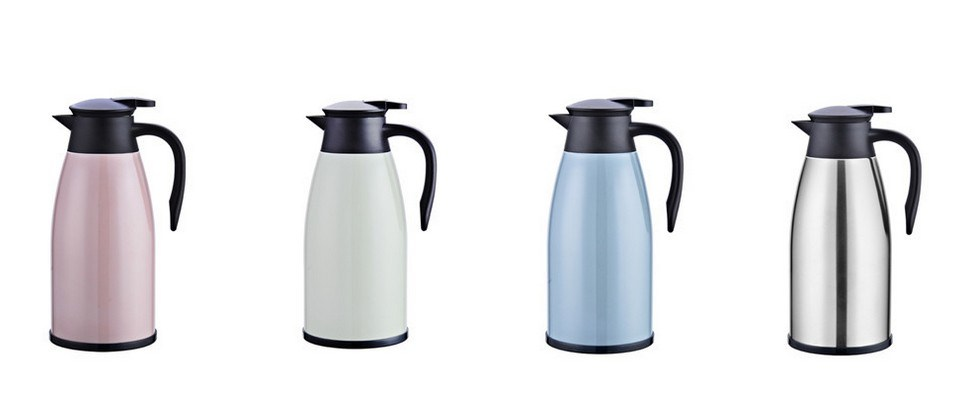 304 Double Wall Stainless Steel Vacuum Tea Pot, Kettle