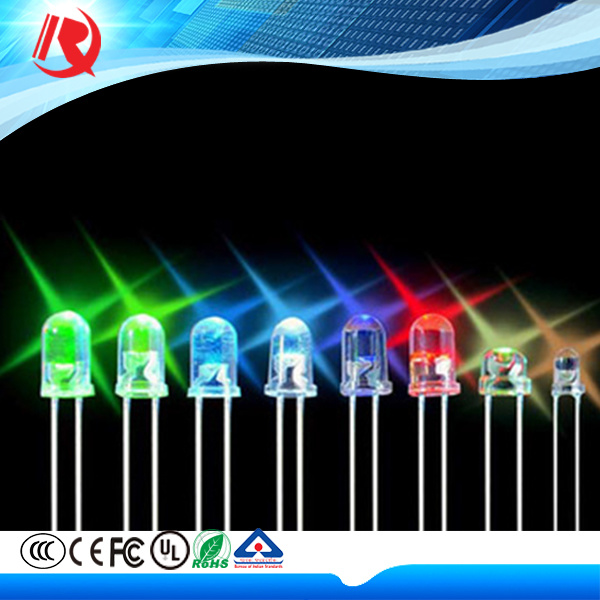 5mm Green High Brightness Water Clear LED