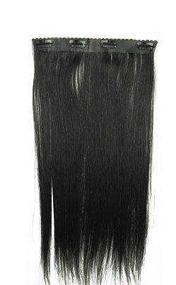 New Clip on Tangle Free Human Hair Extension