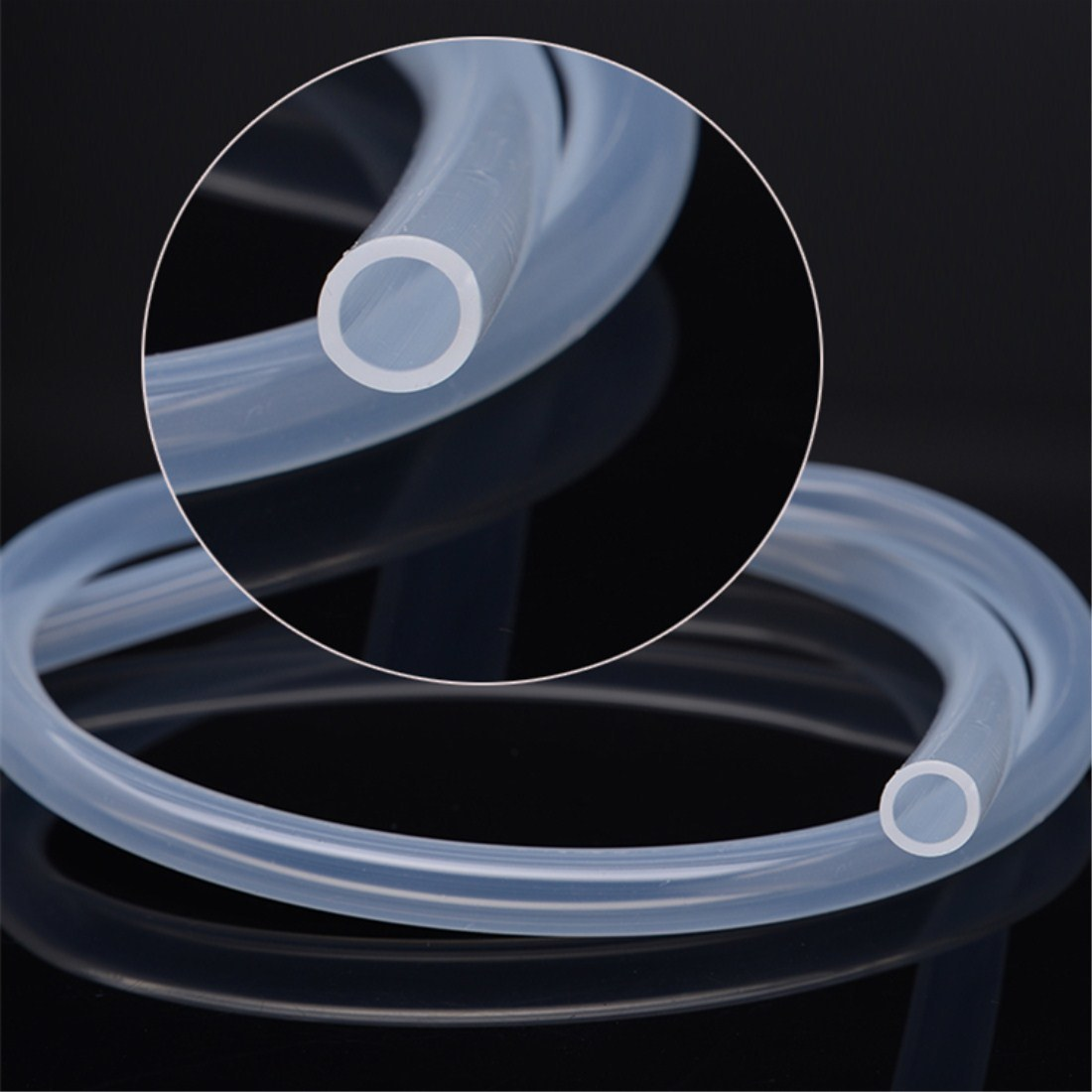 FDA Standard Flexible Silicone Rubber Hose for Baby Bottle