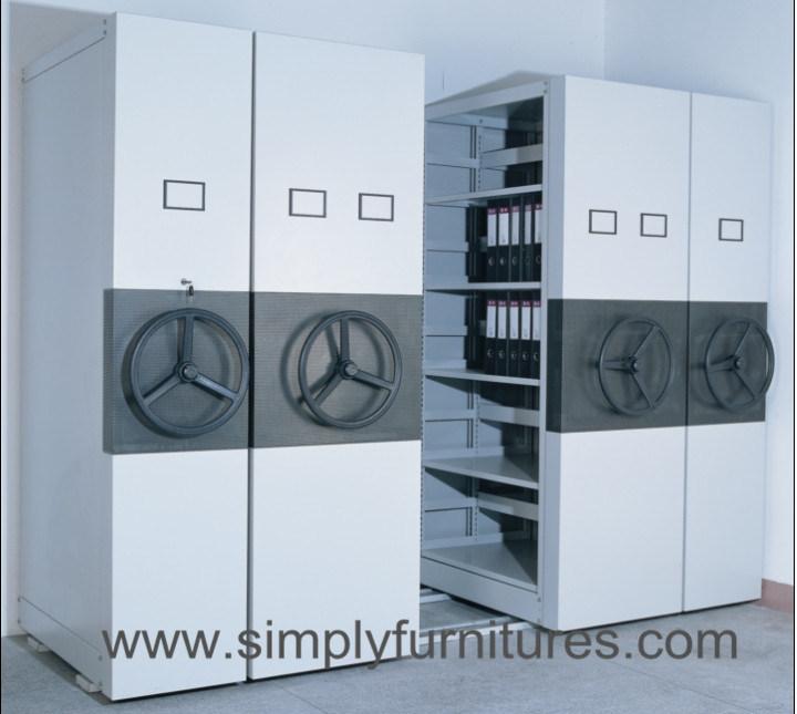 High Density Mobile File Storage Shelving
