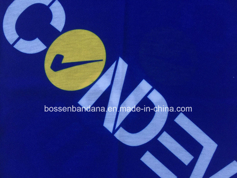 Custom Made Logo Printed Polyester Microfiber Promotional Elastic Multifunctional Buff Headwear