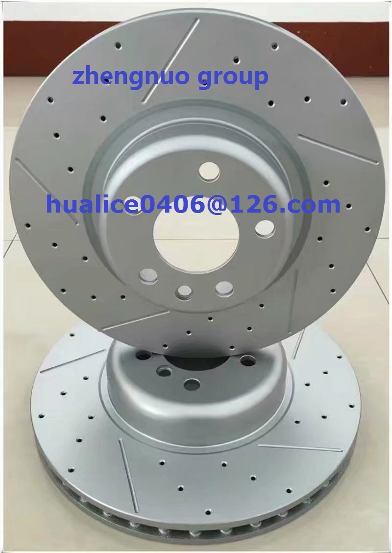 SGS and Ts16949 Certificates Approved Brake Discs/Rotors