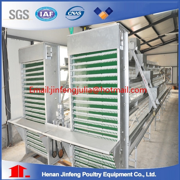 Breeder Cage in Poultry Farm