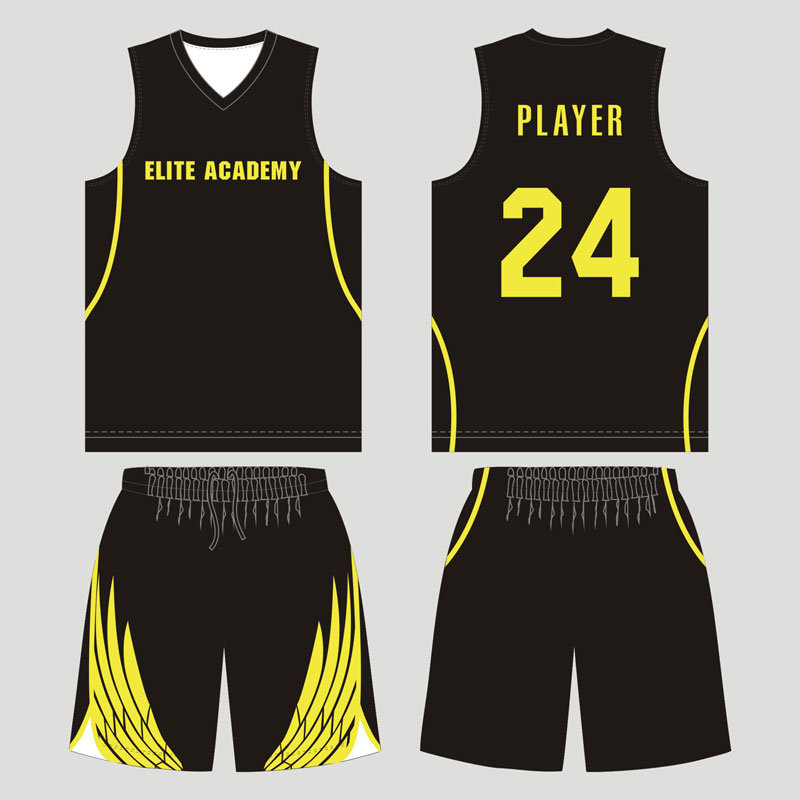 Customized Team Sublimated Reversible Basketball Uniform for Team Players