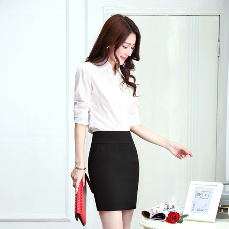 Wholesale OEM Hot Girl Sexy Basic Short Skirts Banded Waist Stretch Knit Lightweight Solid Color Hip