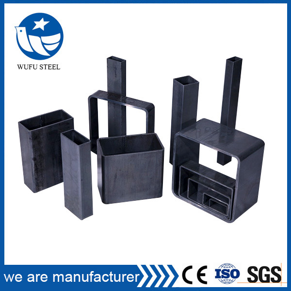 ERW Section Welded Carbon Rectangular Tube