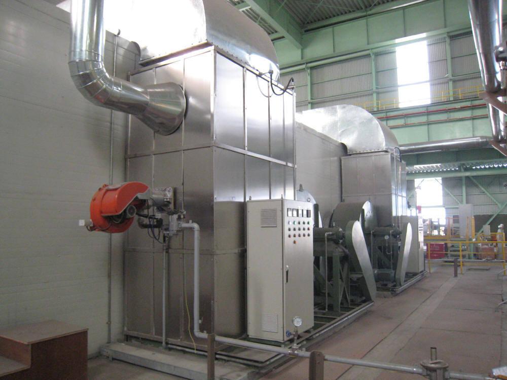 Heat Exchanging Type Hot Blast Stove
