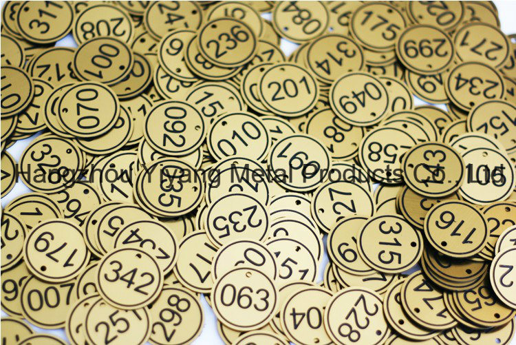 Customized ABS Double Color Board Carving