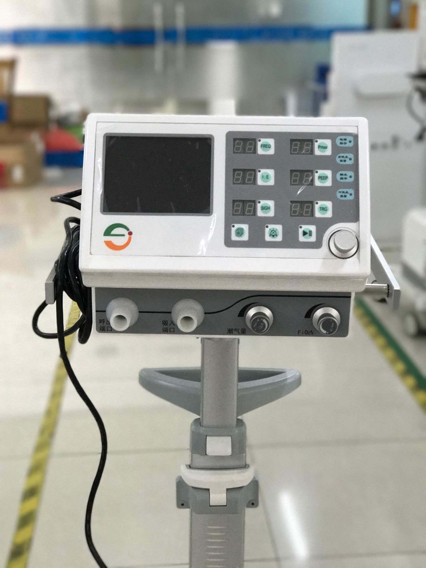 High Quality Medical/Hospital Ventilator Lh8500 for Operation and Rehabilitation