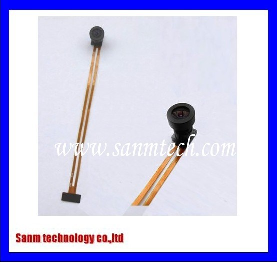 Wide Angle Lens 0.3mega Camera Module|Ov7725 128 Degree Dfov CMOS Lens Module for Car Recorder