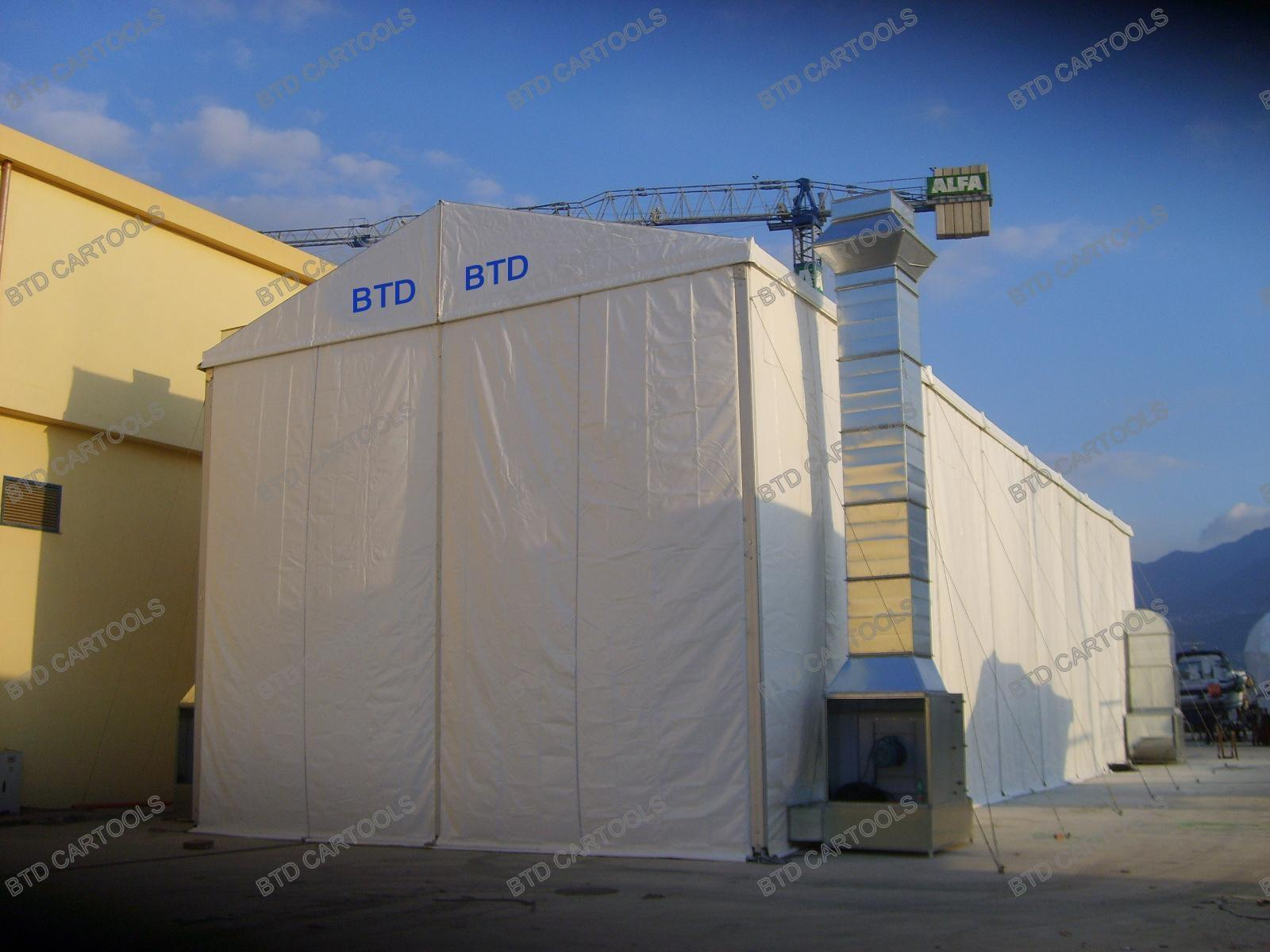 Industrial Spray Booth Btd Yacht Spray Booth