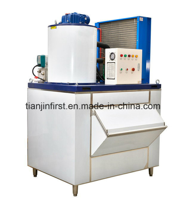 Flake Ice Maker Machine for Food Preservation and Processing