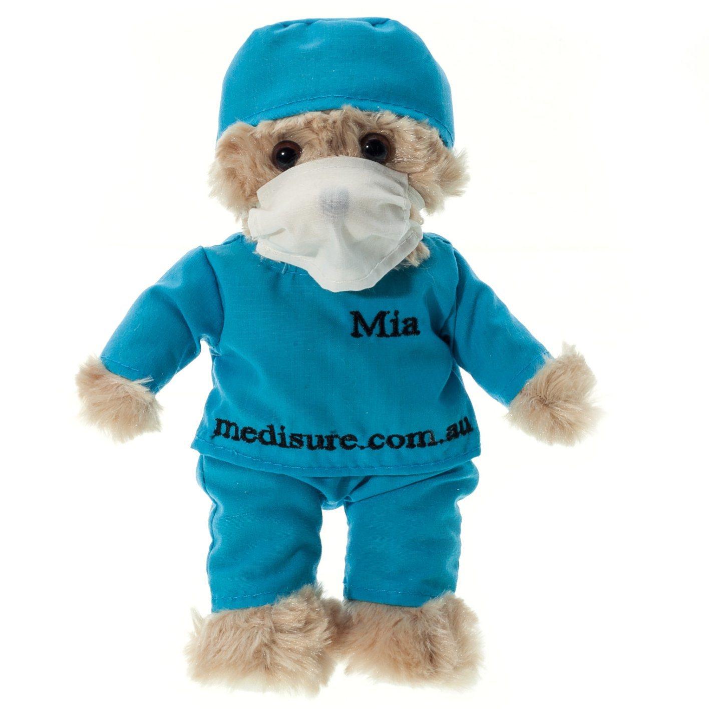 Custom Made Super Soft Stuffed Doctor Plush Teddy Bear