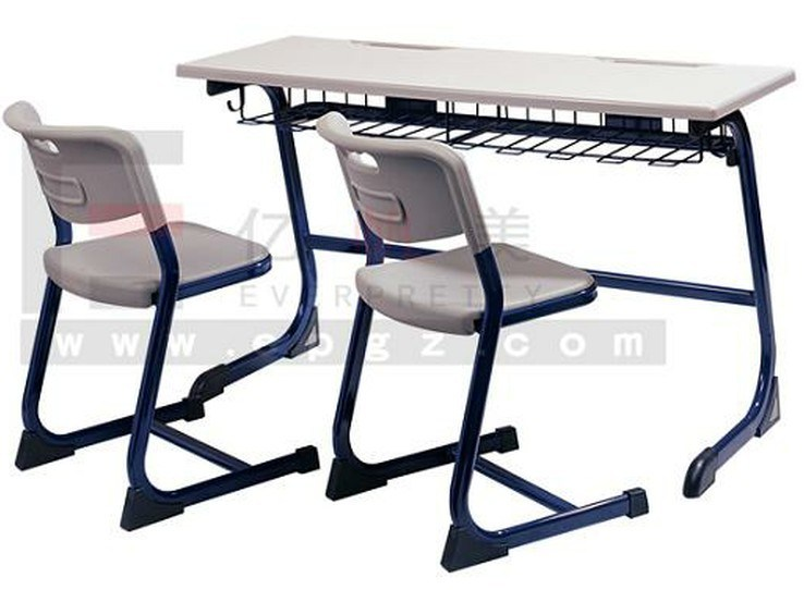 double school desk and chairs. china new arrival durable college school classroom furniture plastic double desk and chair - furniture, chairs p
