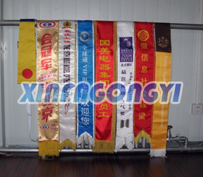 Custom Sash/Scarf, Polyester Sashes/Scarves