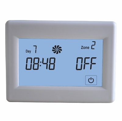 Installer Selectable Gas Boiler Heating Thermostat