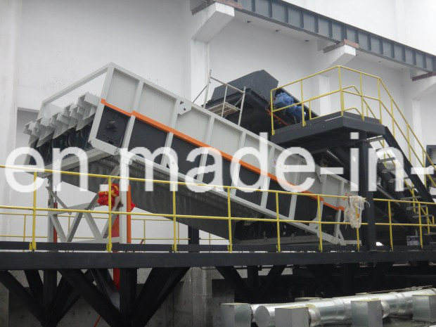 WT45-338 Ballistic Separator for Msw/Wastepaper Separation