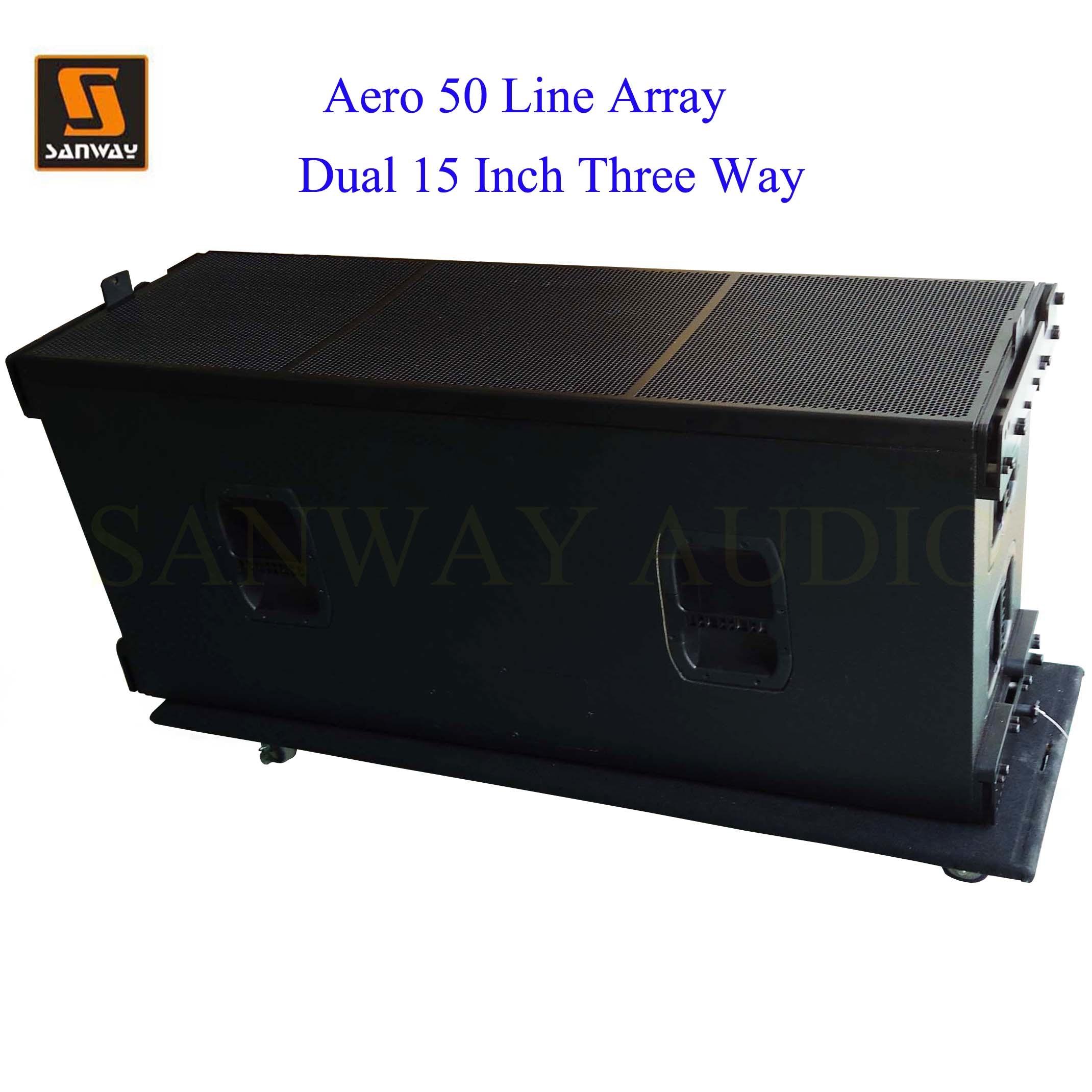 Three Way PRO Audio High System, Line Array Loudspeakers (AERO 50)
