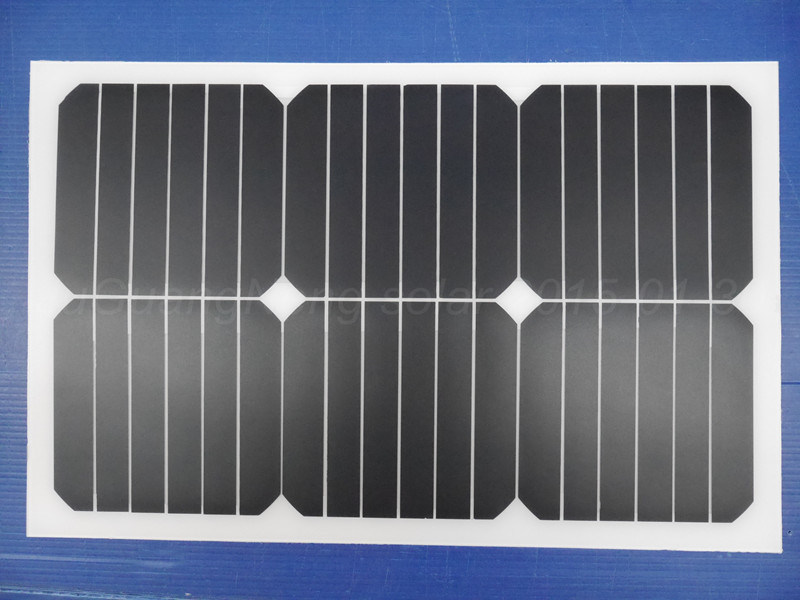 2017 New Product, 20W Semi-Flexible Sunpower Solar Panel (JGN-20W-SPF)