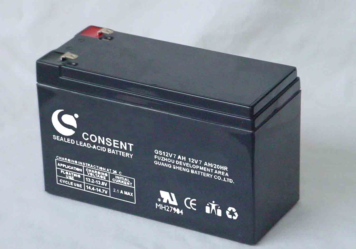 Lead Acid Battery : China gs v ah lead acid battery
