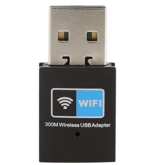 High Quality 802.11b/G/N 300Mbps Mini USB WiFi Adapter