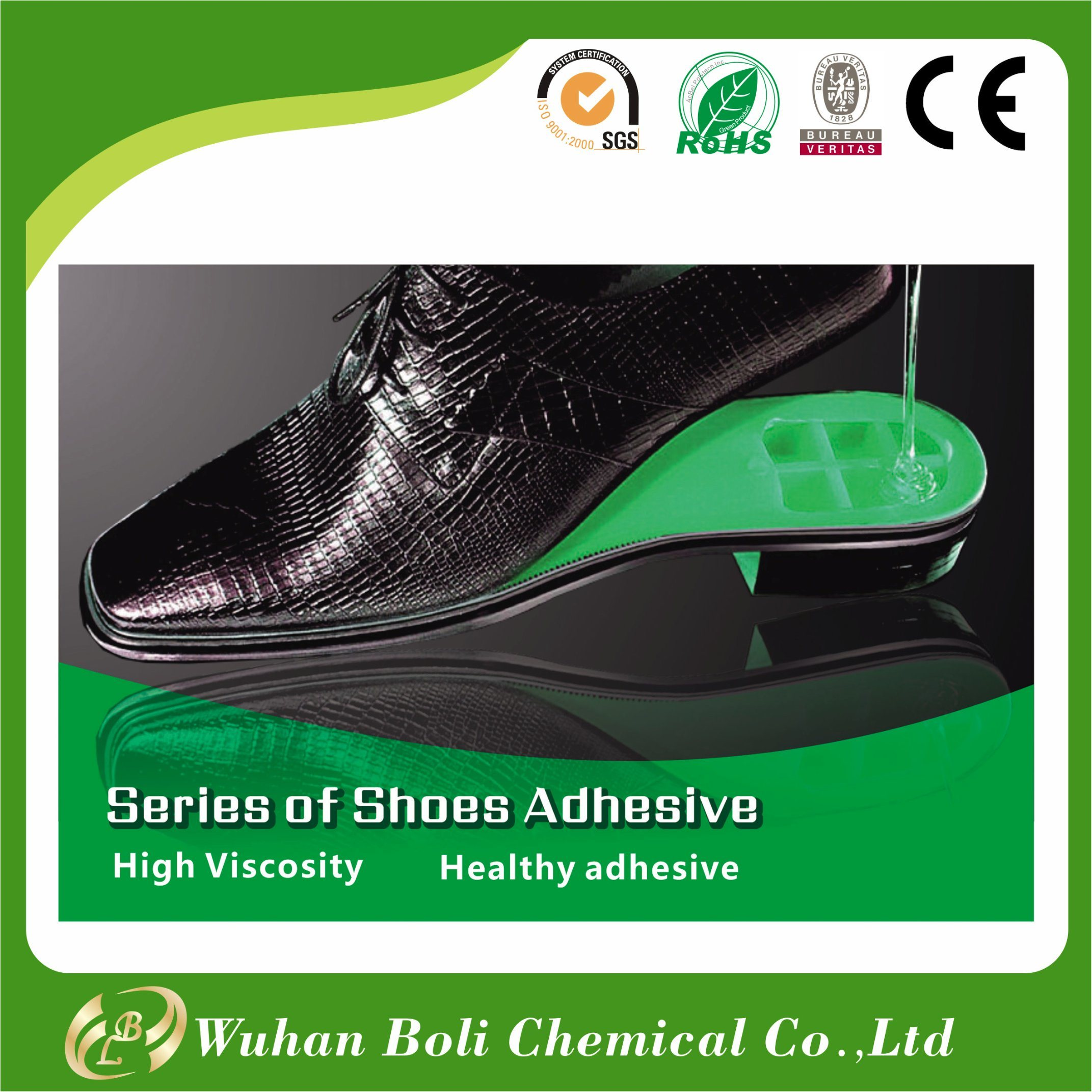 China Supplier Best Selling Polyurethane PU Adhesive for Shoes Footwear Uppers Adhesive Glue