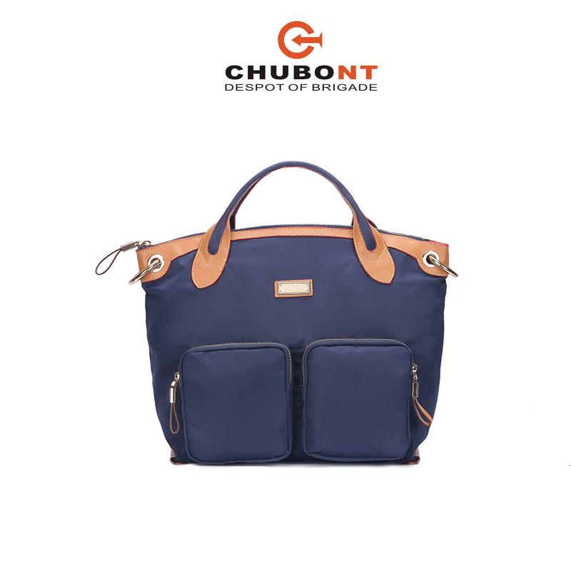 Chubont High Qualilty Nylon+Micro Fiber Material Fashion Ladies Handbag