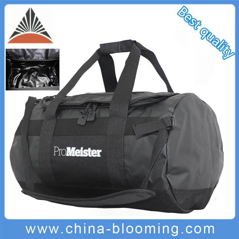 Waterproof Tarpaulin PVC Duffel Fitness Gym Sports Weekend Travel Bag