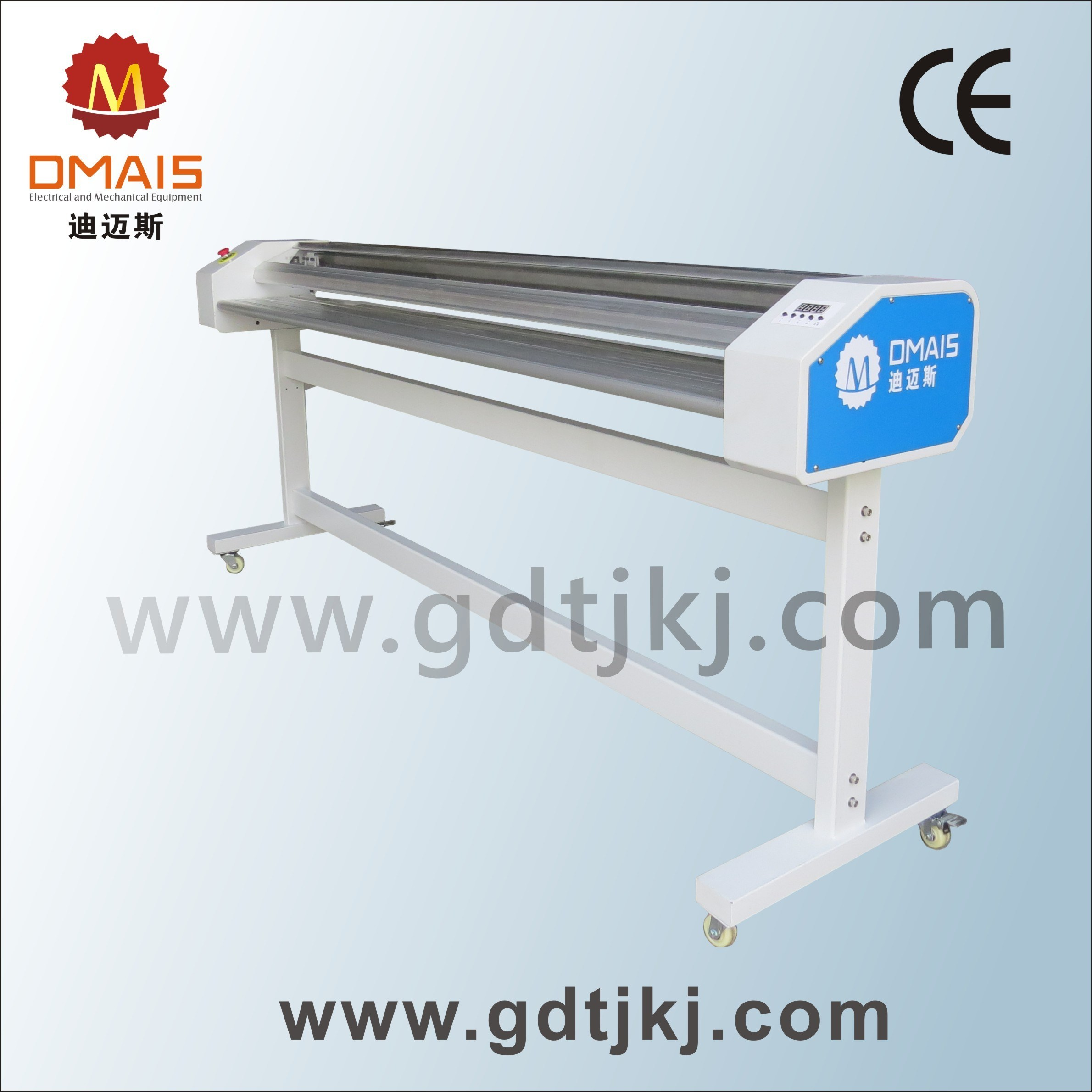 Qz-1800 Paper Cutter for Advertising Material Left and Right Side