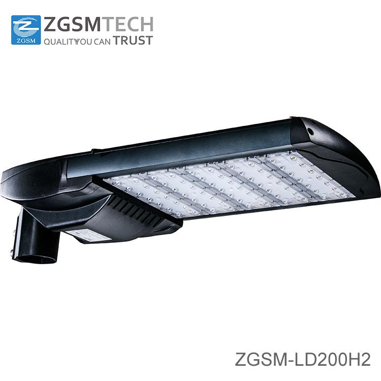 7 Years Warranty 200W Motion Sensor LED Street Light