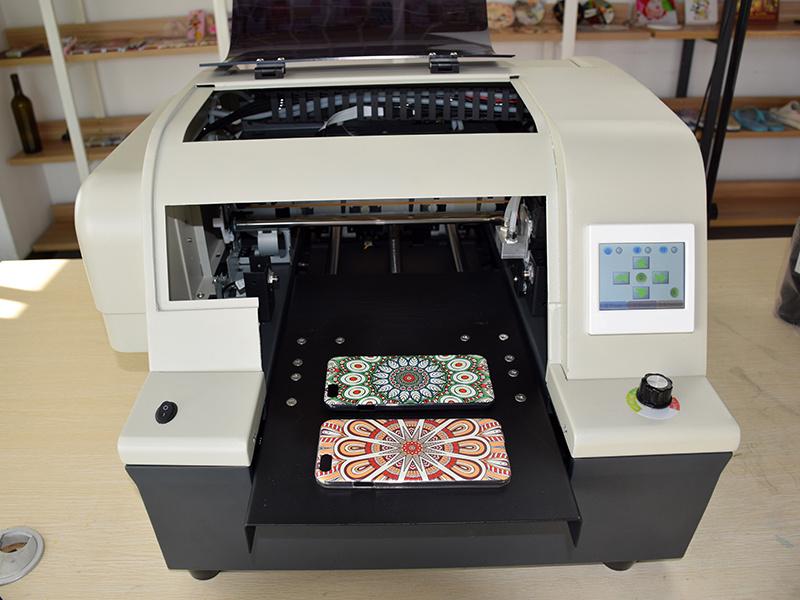 Kmbyc A4 Size 6 Colors UV Digital Flatbed Printer