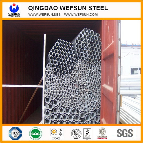 BS1387 Round Hot Dipped Galvanized Steel Pipe