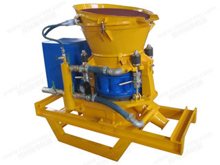 Dry-Mix Shotcrete / Gunite Machine in Skid