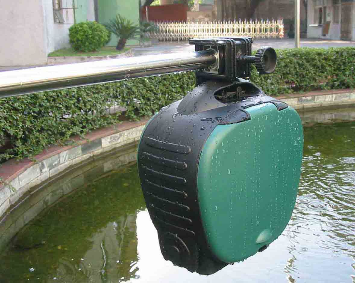 China koi feeder pf 0701 china auto koi feeder auto for Koi fish feeder