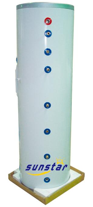 Split Pressurized Solar Tank